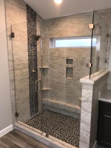 bathroom remodel, shower remodel
