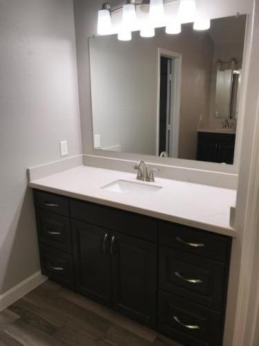 bathroom remodel, , cabinetry